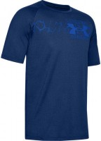 Under Armour UA TECH 2.0 GRAPHIC SS,American Blu