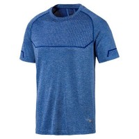 Puma Energy Seamless Tee,GALAXY BLUE HEA