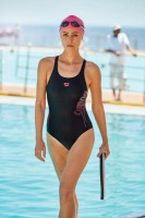 Arena W SHADING LIGHTS SWIM PRO ONE,BLACK