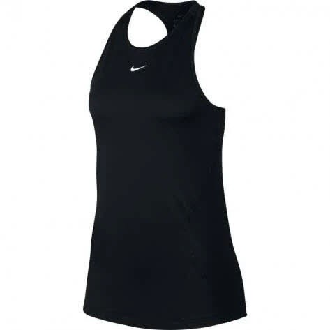 Nike W NP TANK ALL OVER MESH,BLACK/WHITE