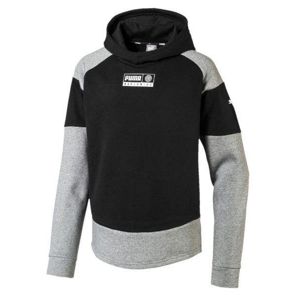Puma Alpha Advanced Hoody FL B,PUMA BLAC