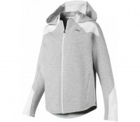 Puma EVOSTRIPE FZ Hoody,LIGHT GRAY HEATH - Bild 1