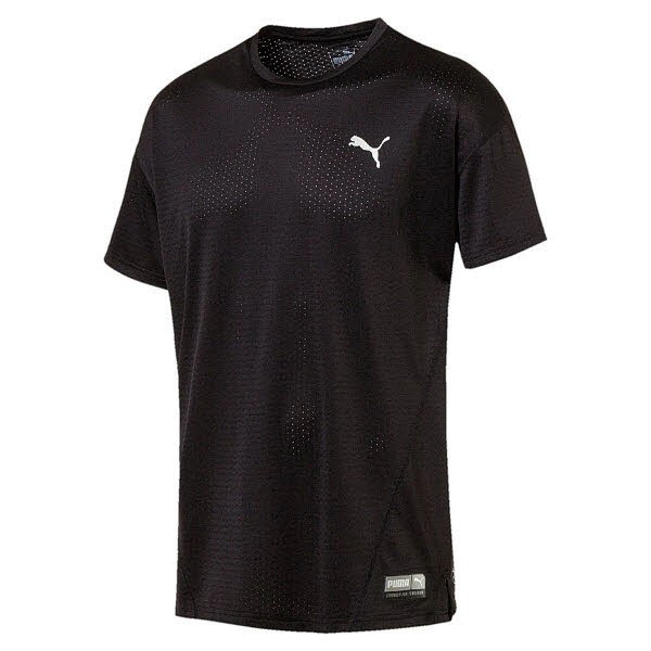 Puma Feel It Mesh Logo Tee
