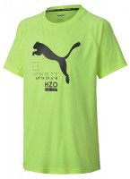 Puma Active Sports Poly Tee B,FIZZY YELL