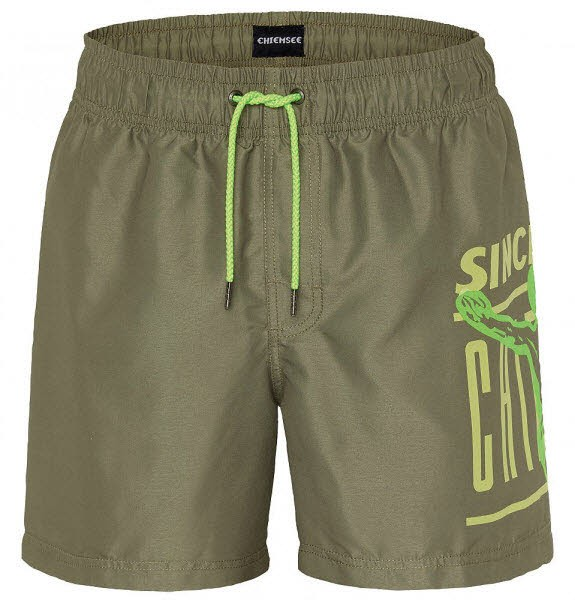 Chiemsee TIGER SHARK SWIMSHORT,Dusty Olive