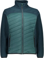 CMP MAN HYBRID JACKET,PETROLIO