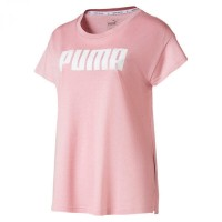 Puma Active Logo Tee,BRIDAL ROSE