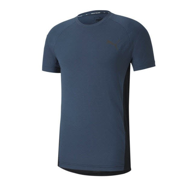 Puma EVOSTRIPE Tee,DARK DENIM