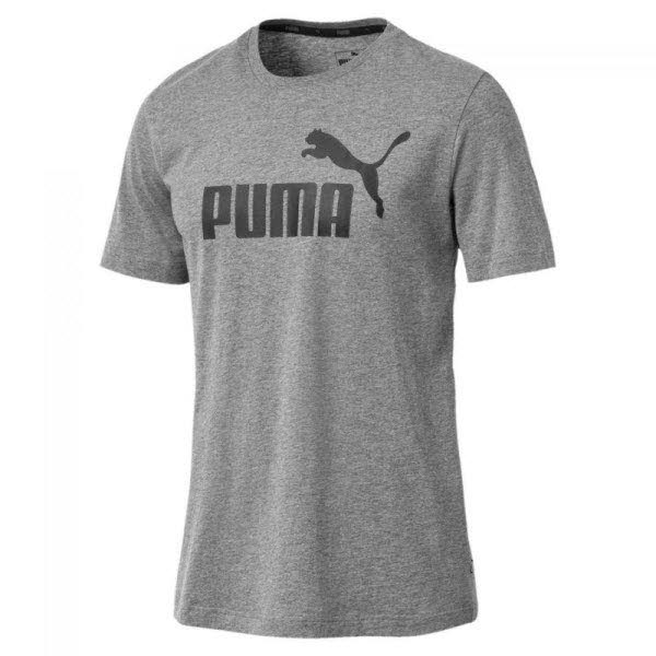Puma NOS ESS Logo Tee,MEDIUM GRAY HEATHE